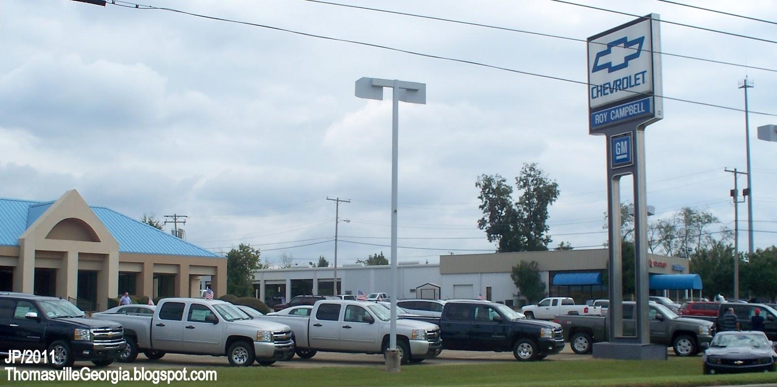 Car Dealerships In Thomasville Ga