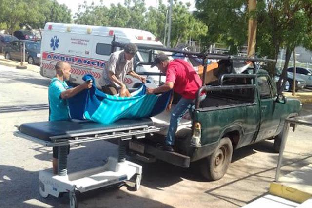 Ambulancias dañadas en el Zulia y  los pacientes deben ser trasladados en camionetas