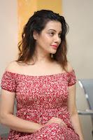 Diksha Panth in a Deep neck Short dress at Maya Mall pre release function ~ Celebrities Exclusive Galleries 108.JPG
