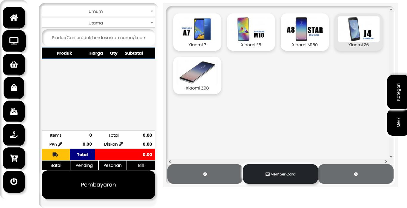 aplikasi penjualan kasir toko