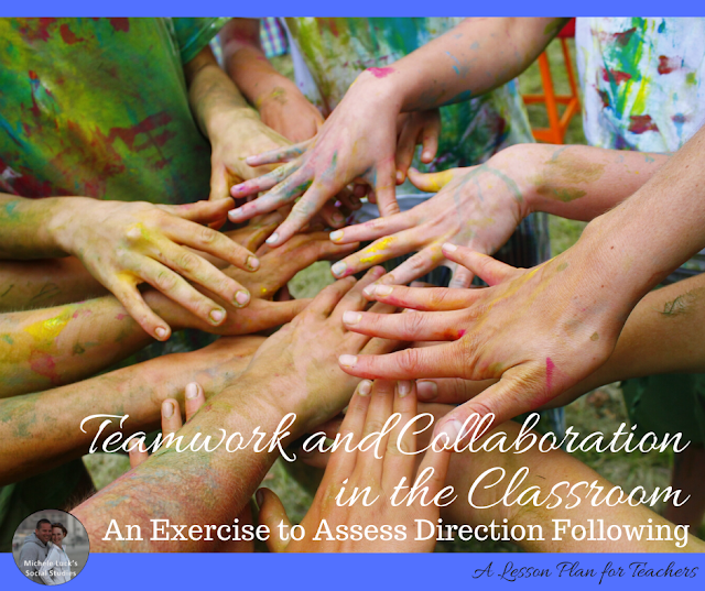 Teamwork and Collaboration in the Classroom: An Exercise to Assess Direction Following