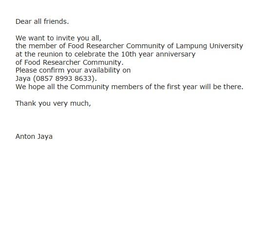 Contoh surat undangan dalam Bahasa Inggris (via: suratresmi.id)
