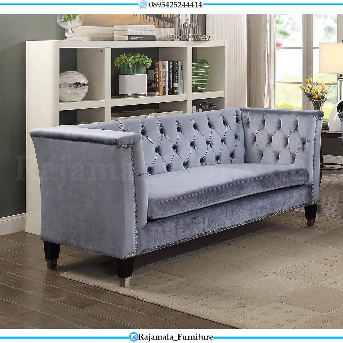 New Set Sofa Tamu Minimalis Klasik Jati Perhutani Furniture Jepara RM-0614