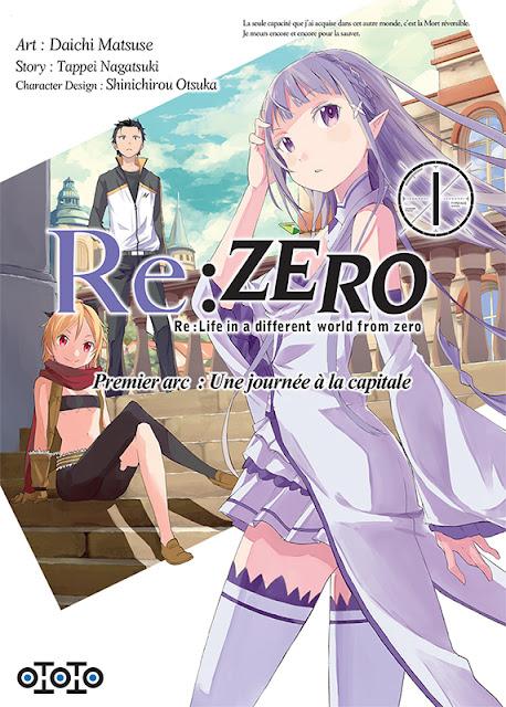 Actu Manga, Manga, Ototo, Seinen, Shonen, Re:Zero - Re:Life in a Different World From Zero, Sword Art Online - Phantom Bullet, Bungo Stray Dogs,