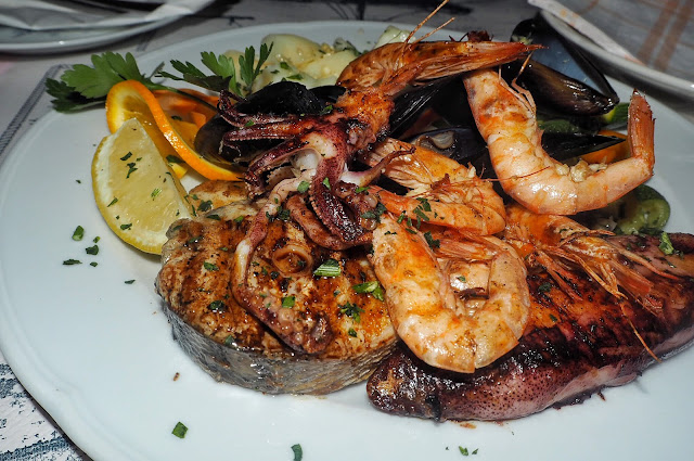 Food, dining, Dubrovnik, Croatia, Food blog, Seafood Platter, Konavoka