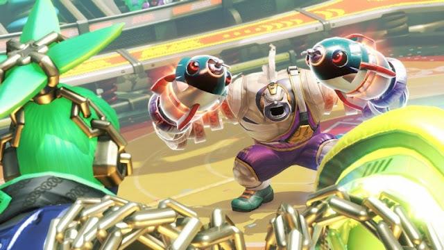 تسريب لائحة أولية للشخصيات القادمة للعبة ARMS