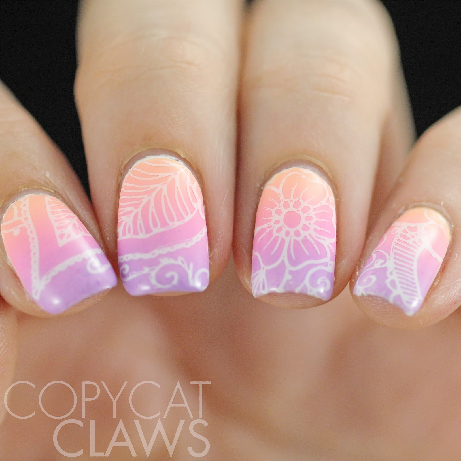 Copycat Claws: UberChic Beauty Mandala Love Stamping Plate Review