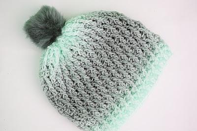 3 - Crochet Imagen Gorro gris a crochet y ganchillo muy fácil y sencillo por Majovel Crochet
