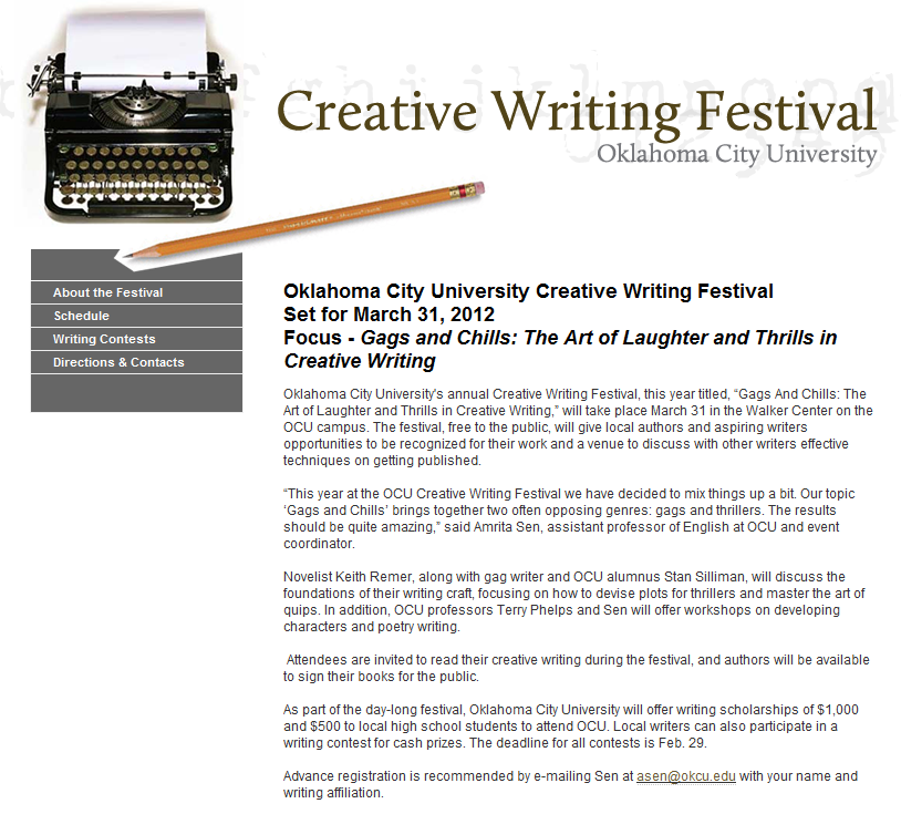uwic creative writing