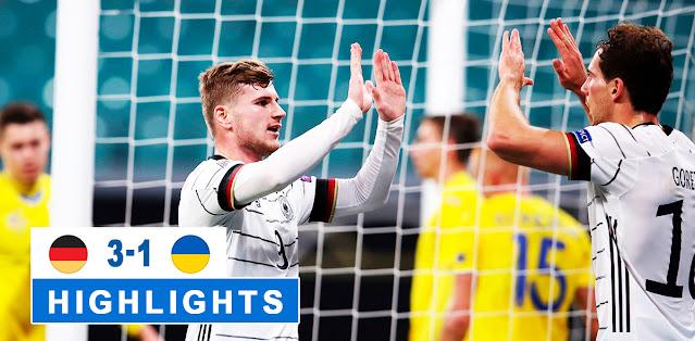 Germany vs Ukraine – Highlights