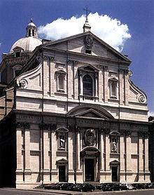 Façade-de-l'église-du-Gesù_à_Rome_considérée.JPEG