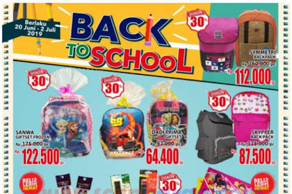Promo Katalog Ramayana BACK TO SCHOOL 20 Juni - 2 Juli 2019