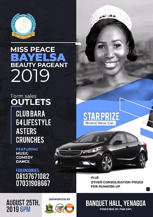 Miss Peace Bayelsa Beauty Pageant 2019