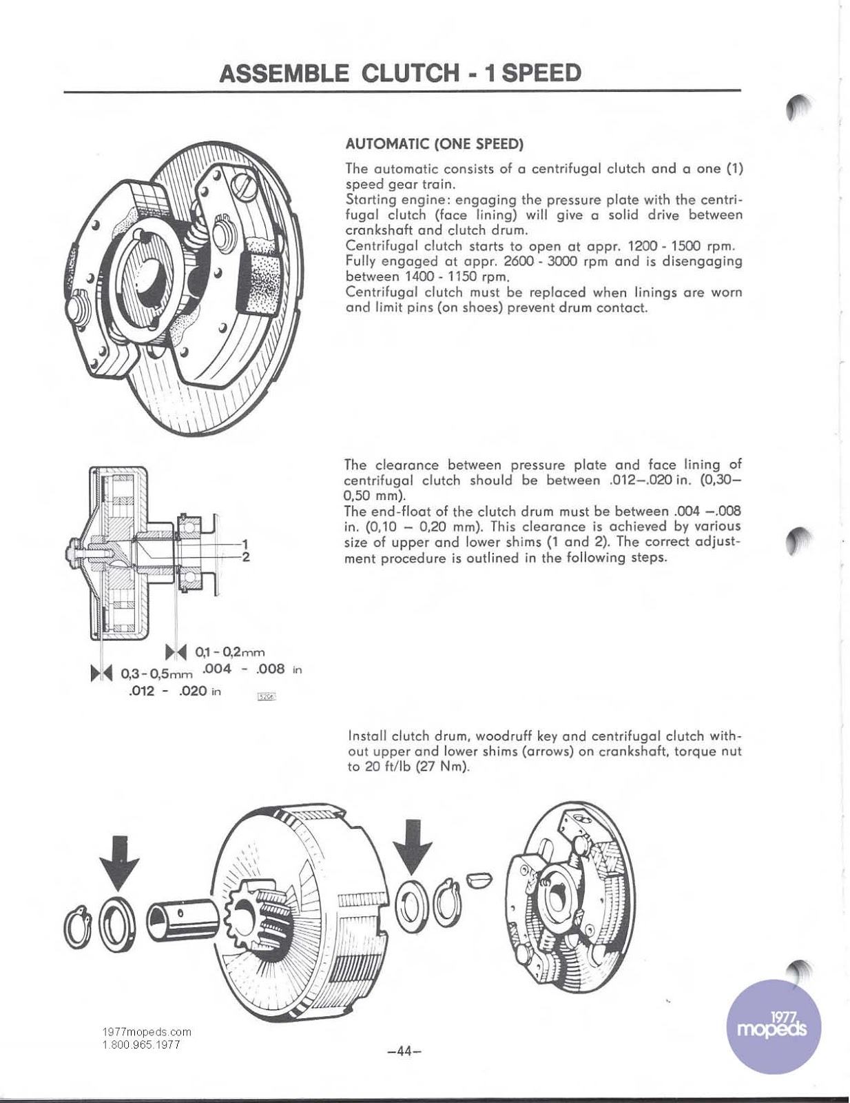 OB1 Repairs: Puch Magnum Maxi Service Manual
