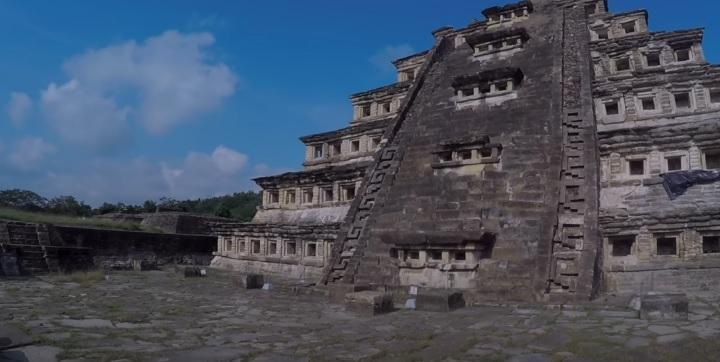 Piramides en el Tajin