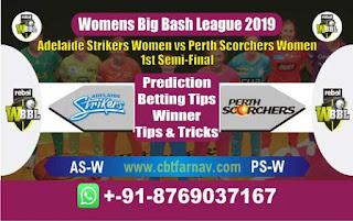 Womens Big Bash Semi Final Perth vs Adelaide Today Match Prediction Reports