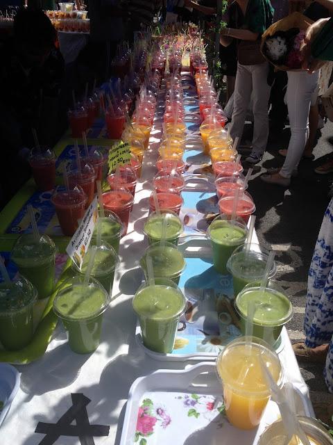 zumos callejeros