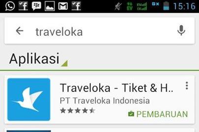 Traveloka, Booking Tiket Pesawat Semudah Mengedipkan Mata