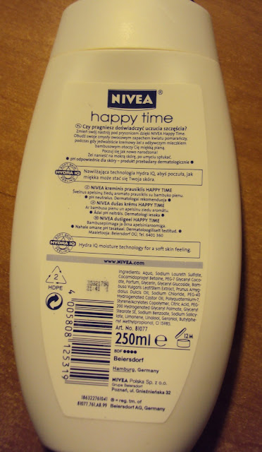 Żel Nivea happy time