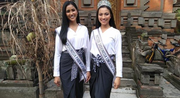 Dua Putri Indonesia Ajak Masyarakat Tak Terpengaruh Hoaks