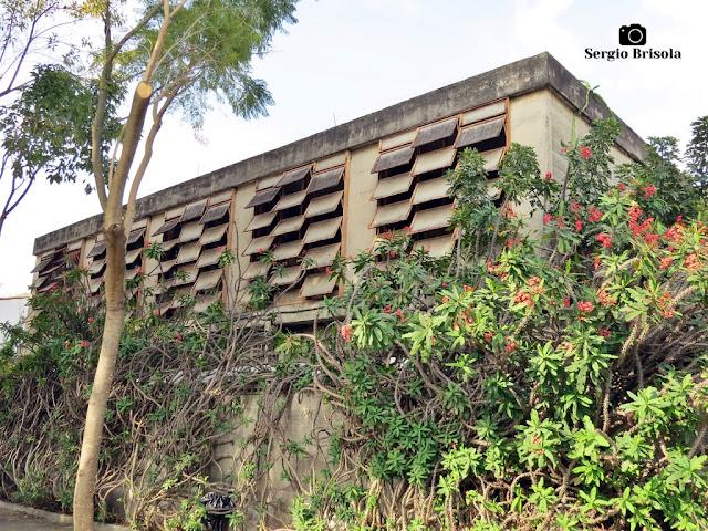 Vista lateral da Casa Rosa Okubo - Vila Mariana - São Paulo