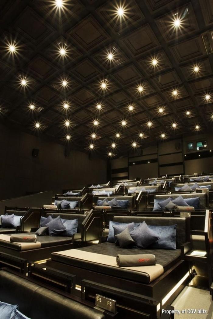 Phát sốt với rạp cinema giường nằm siêu đẳng cấp chỉ có ở Sài Thàn3h