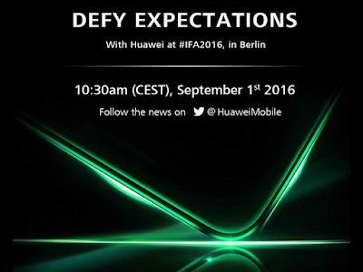 Huawei to Announce Two Handsets at IFA 2016; New Series to be Named 'Nova'