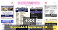 Gulf Walking Jobalert Employment News Paper Sep12