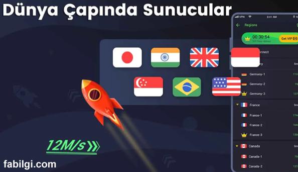İnternet Hızlandırma Uygulaması Bedava 3X VPN İndir 2021
