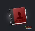 Desain Address Book Java Grafis di Photoshop