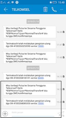 pulsa gratis dari Aplikasi dent android