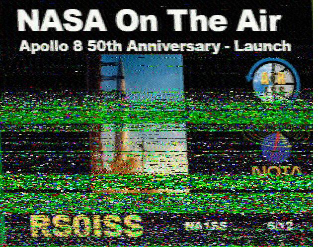Ham Sat and Beyond: SSTV Images received from the ISS