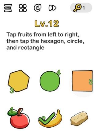 kunci jawaban brain out level 12