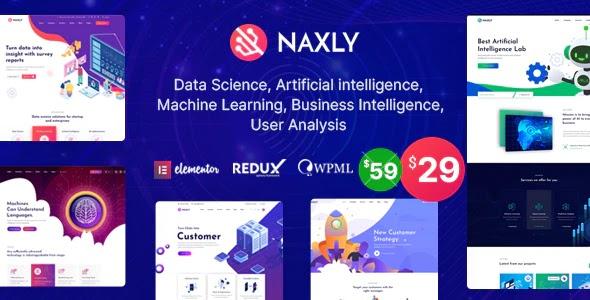 Data Science & Analytics Website Theme