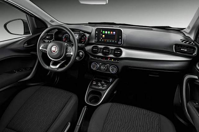 Fiat Cronos Drive GSR - interior
