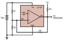 Linear LT1107 DC/DC Converter Datasheet