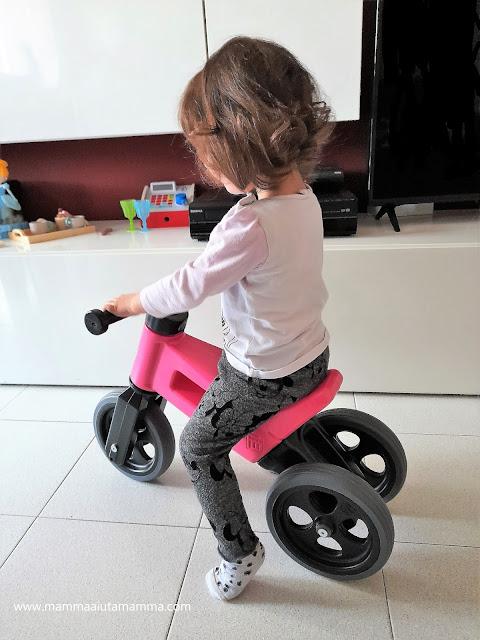 bici senza pedali 2 in 1