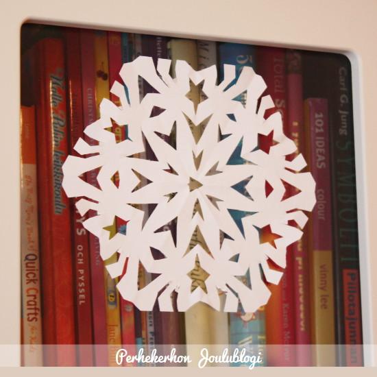 Kuva: Jouluaskartelu - Paperilumitähdet sopivat moneen paikkaan