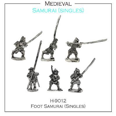 H-9012 Foot Samurai SINGLES
