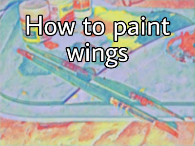 How to paint wings