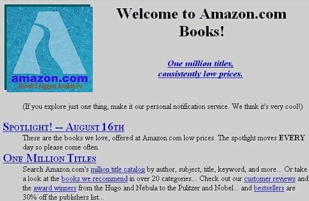 История компании Амазон