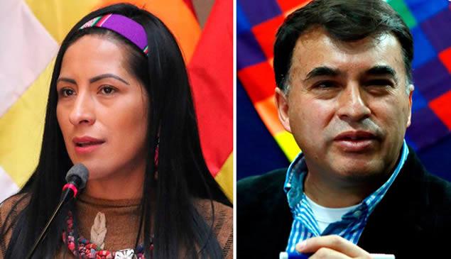 Gobierno de Añez pide a México que entregue a Quintana, Alanoca y otros tres que están en la Embajada