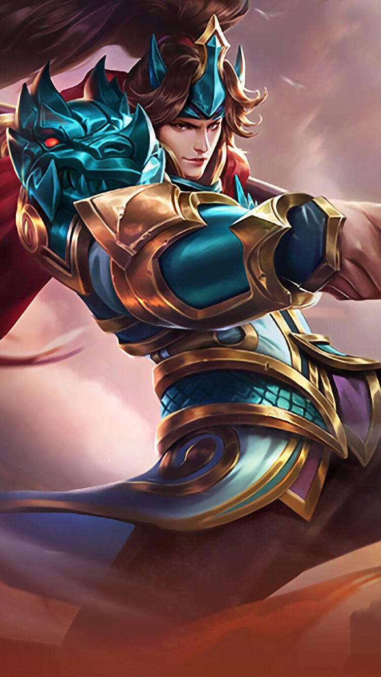 Wallpaper Zilong Son of the Dragon Skin Mobile Legends for Android and iOS