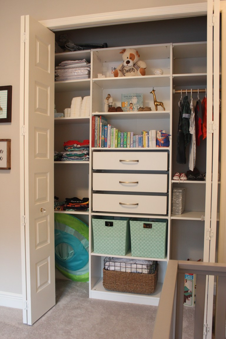 Using IKEA Pax units for closet organization