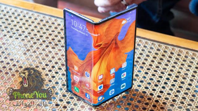 هواوى تكشف اليوم عن هاتفها الجديد القابل للطي huawei Mate XS - هواوى ميت اكس اس