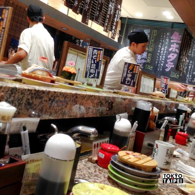 【根室花丸】從北海道紅到東京的迴轉壽司排隊名店