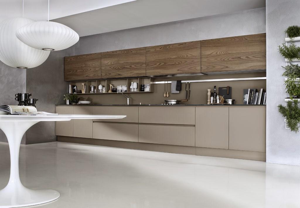 50 ideas de c mo combinar los colores en la cocina for Granito marron cristal