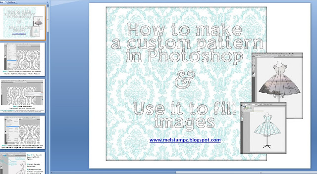 http://melstampz.blogspot.ca/2011/06/how-to-make-custom-patterns-in.html