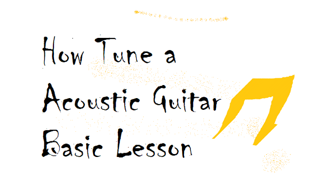 How Tune a Acoustic Guitar Basic Lesson | Guitar Smart Supporter |