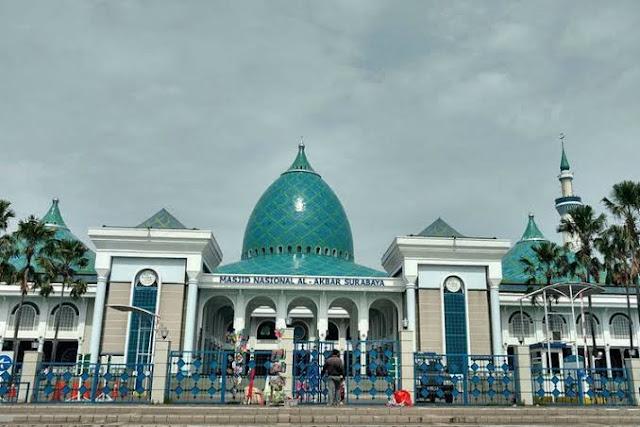 Masjid terbesar di Surabaya
